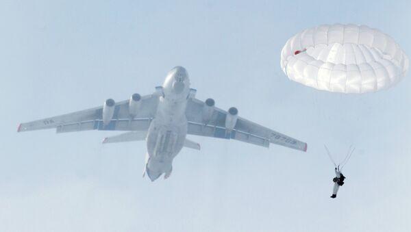 Учения Воздушно-десантных войск в Рязанской области. Архивное фото