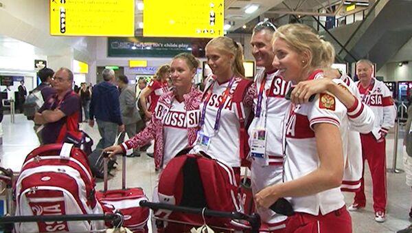 Мы оставили много места в чемоданах для медалей – волейболистки перед ОИ в Лондоне