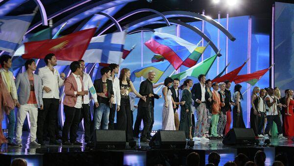 Открытие Международного конкурса Новая волна 2012 в Юрмале