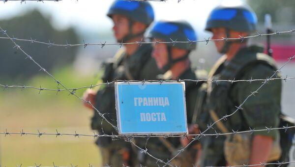 Российские миротворцы в Приднестровье. Архивное фото