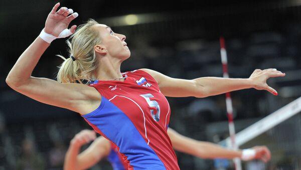 Волейболистка Любовь Соколова, архивное фото