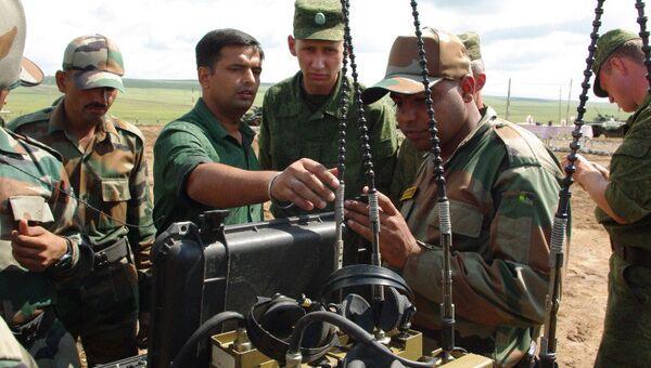 Индийские военнослужащие, архивное фото