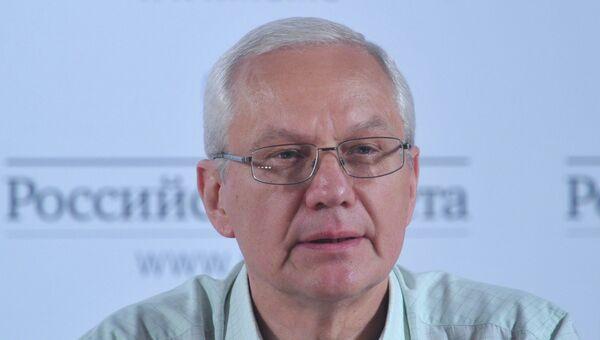 Проректор Российского экономического университет имени Г.В. Плеханова Леонид Брагин