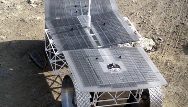Луноход, созданный испанской командой Barcelona Moon Team