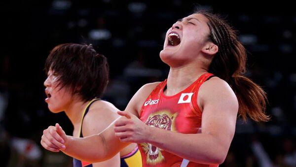 Японка Ито завоевала золото олимпийского турнира по борьбе