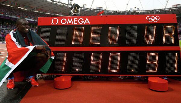 Кенийский бегун Рудиша стал олимпийским чемпионом с мировым рекордом