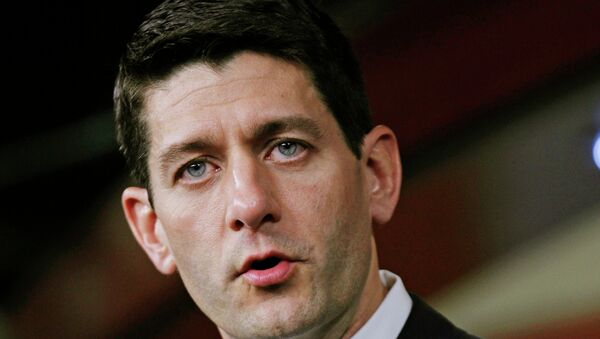 Пол Райан, кандидат в вице-президенты США от республиканцев