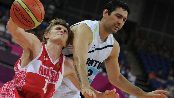 ОИ - 2012. Баскетбол. Мужчины. Матч Аргентина – Россия