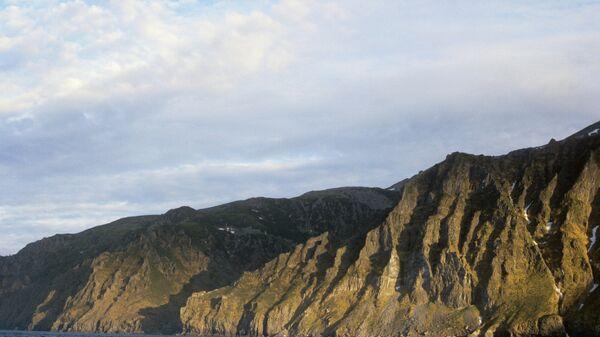 Восточный берег острова Сахалин. Архивное фото.