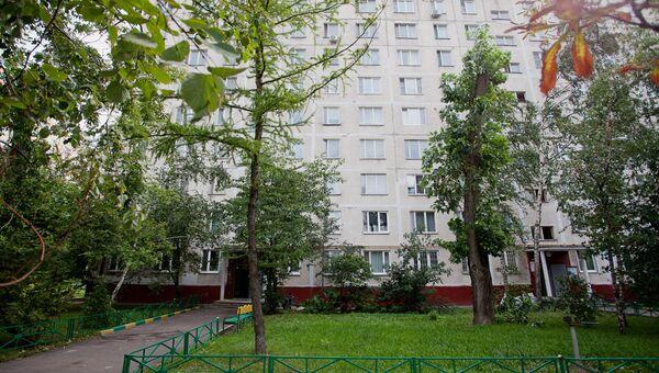 Жилой дом в Москве. Архив