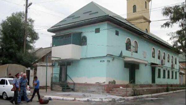 Нападение на мечеть в Дагестане
