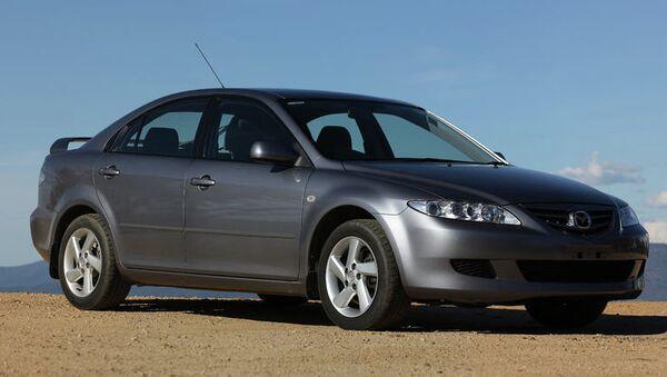 Автомобиль Mazda 6. Архивное фото