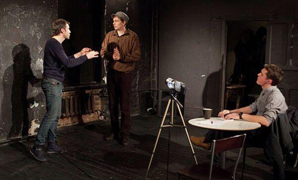Спектакль по пьесе Германа Грекова Кастинг в Театре.doc. Архивное фото