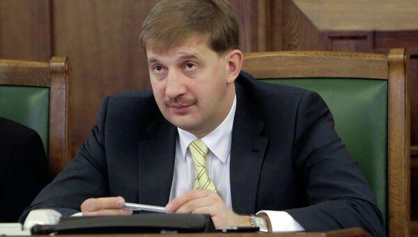 Вице-спикер Сейма Латвии Андрей Клементьев. Архивное фото