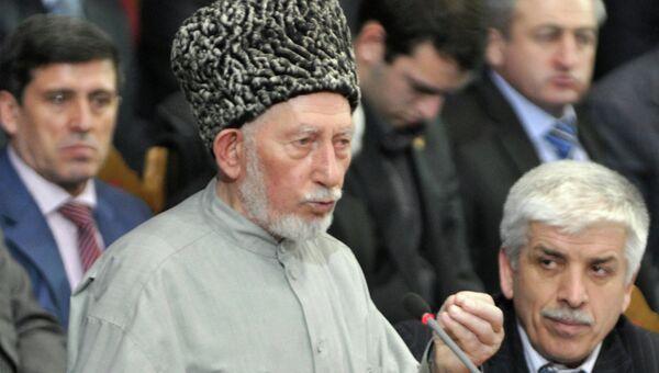 Духовный лидер мусульман Дагестана шейх Саид Афанди