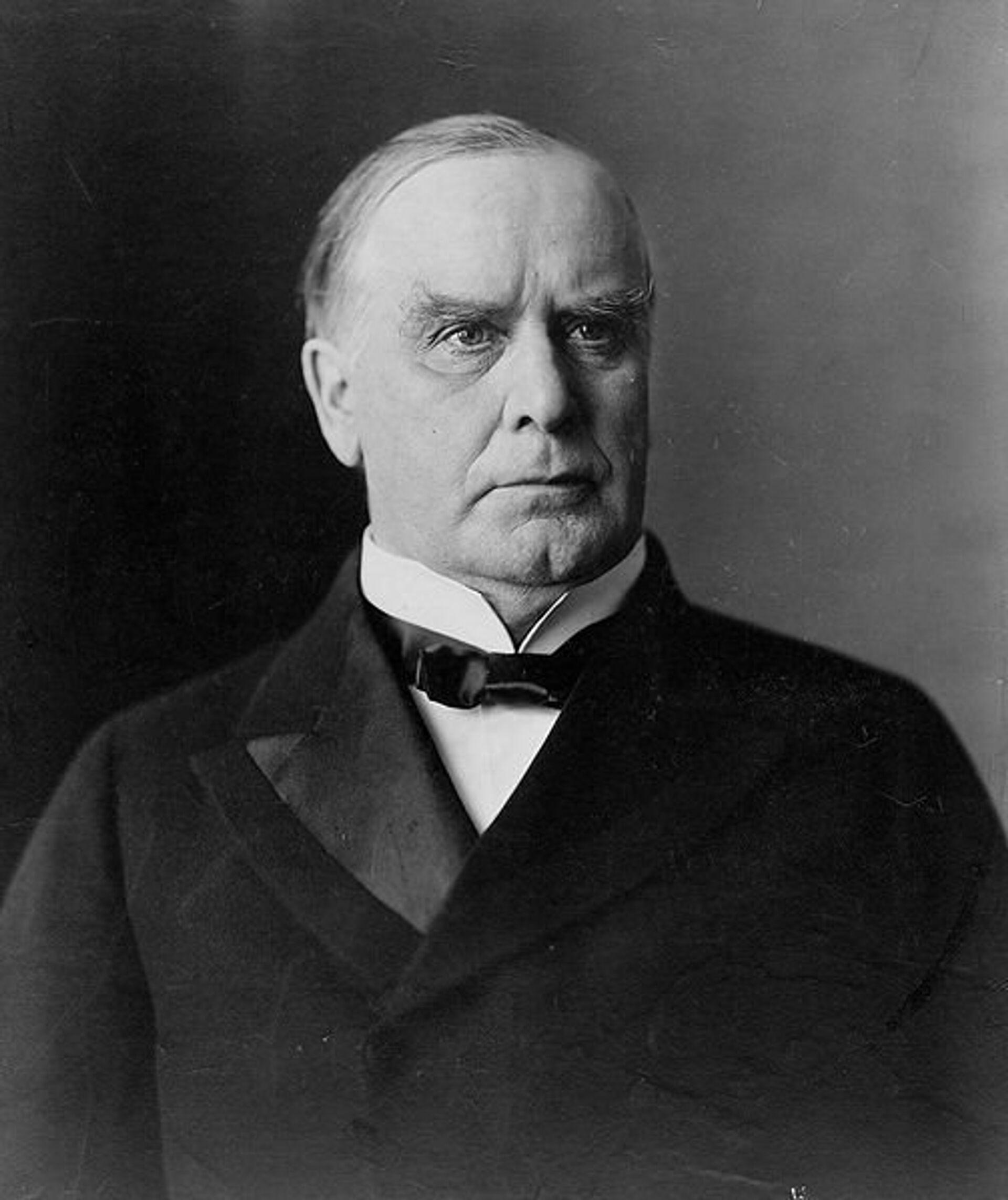 25-й президент США Уильям МакКинли - РИА Новости, 1920, 06.04.2021