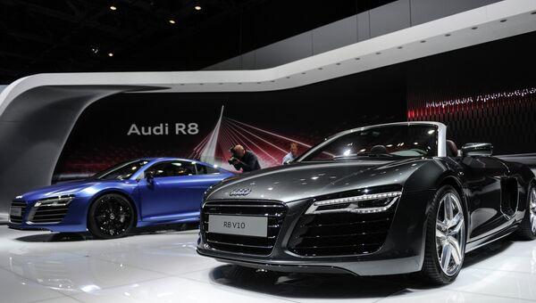 Автомобили Audi R8 Coupe и Audi R8 Spider
