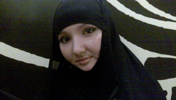 Фото смертницы, совершившей самоподрыв в доме Саида Афанди