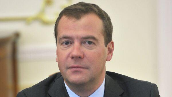 Председатель правительства РФ Дмитрий Медведев. Архив