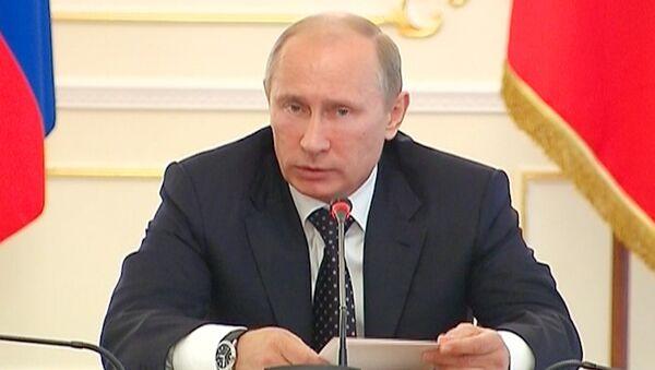 Путин объяснил, что нужно для исполнения гособоронзаказа в срок
