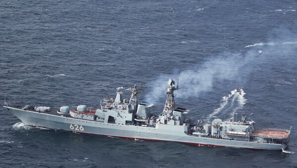 Противолодочный корабль Вице-адмирал Кулаков