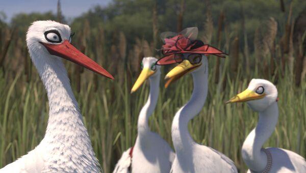Кадр из анимационного фильма «Гордость фламинго». Tomer Eshed