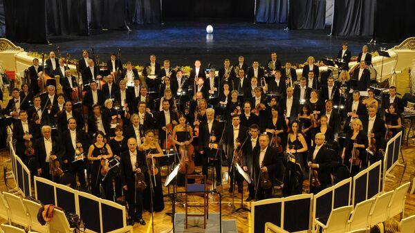 Открытие Большого фестиваля Российского национального оркестра