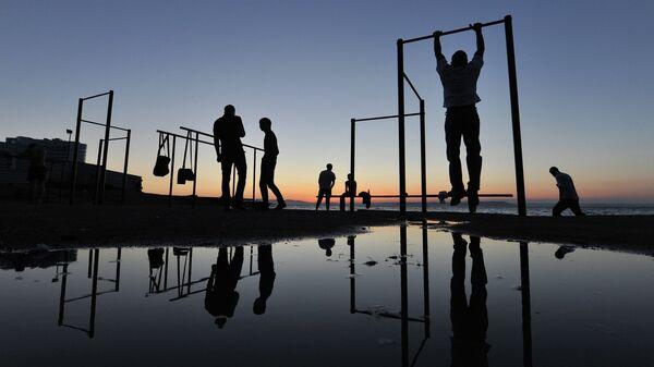 Жители Владивостока занимаются спортом