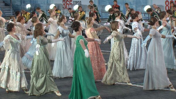 На фестивале военных оркестров устроили театрализованный бал