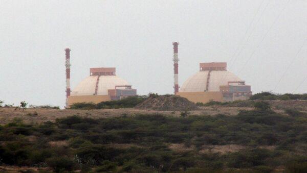АЭС Куданкулам на юге Индии