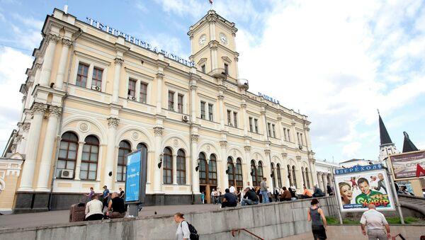 Ленинградский вокзал. Архивное фото
