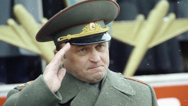 Министр обороны РФ Павел Грачев. Архив