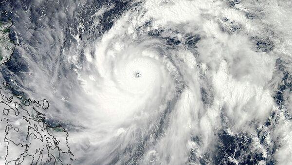 Тайфун Санба