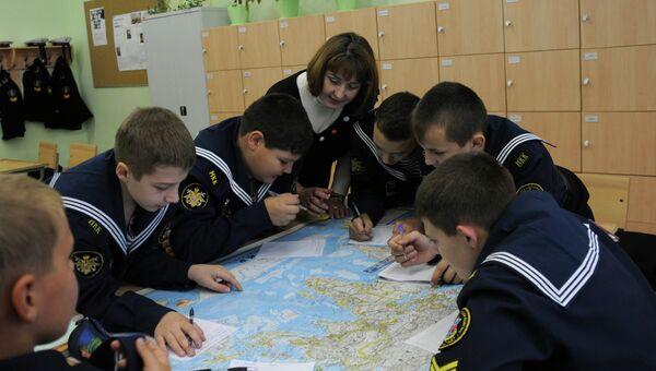 Школа в Крондштате: кадетское братство