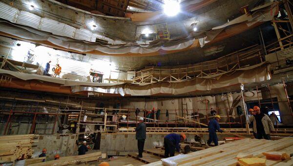 Строительство второй сцены Мариинского театра в Санкт-Петербурге