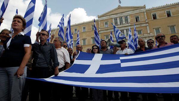 Грецию охватили общественные забастовки