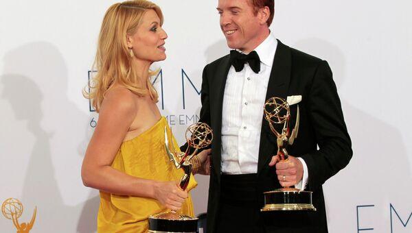 Клэр Дэйнс и Дэмиан Льюис получили Эмми как лучшие драматические актеры года