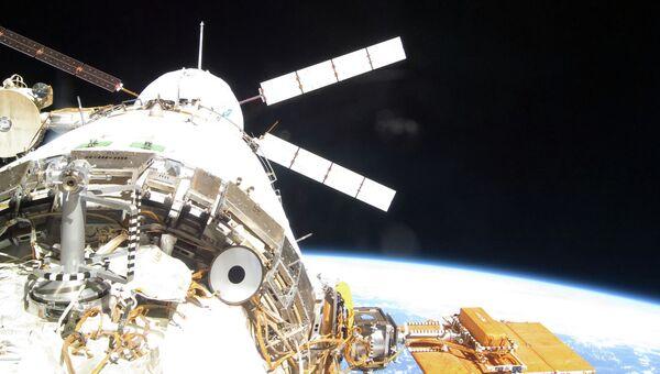 Отстыковка ATV от МКС. Архивное фото
