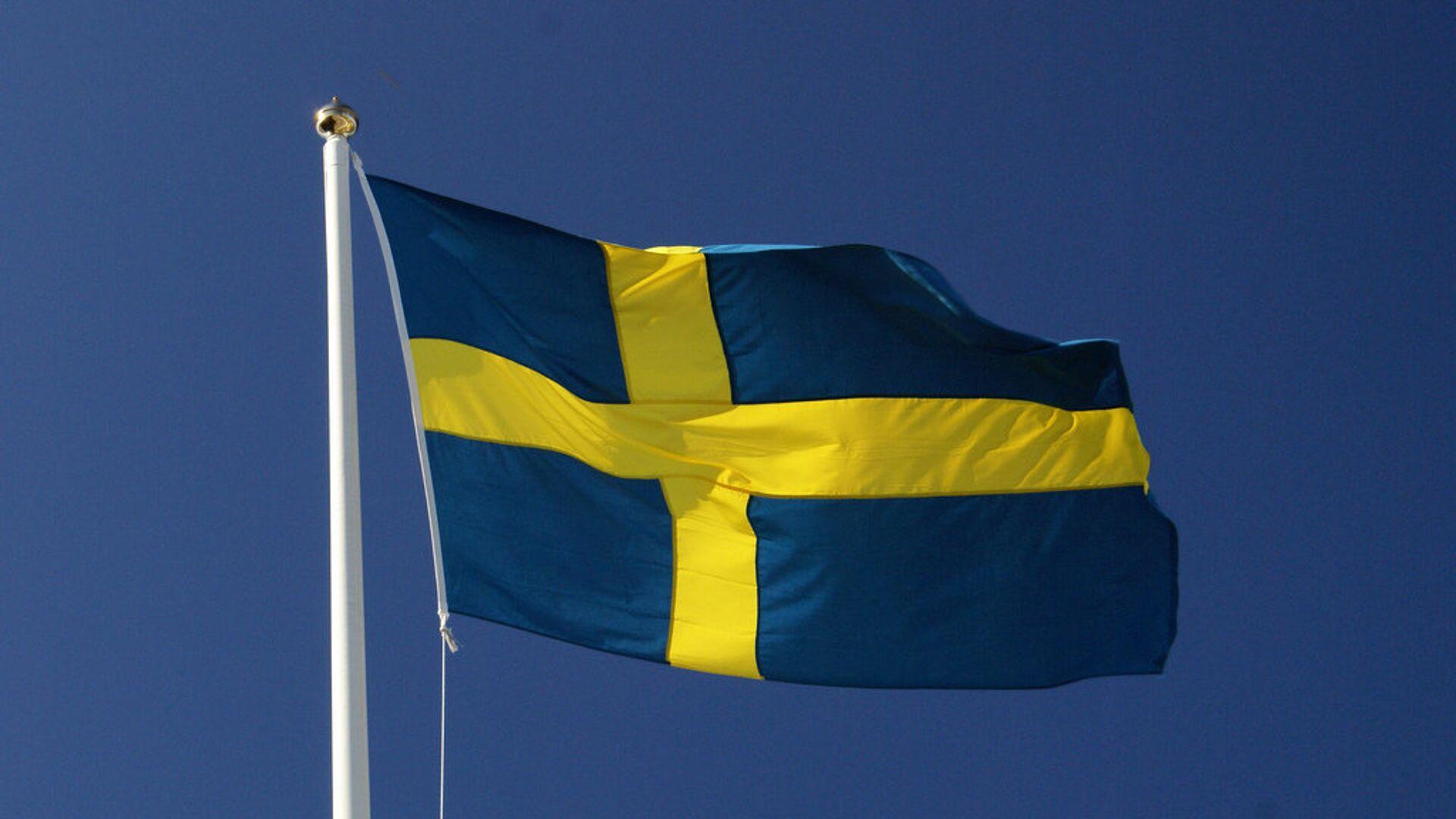 Шведский флаг - РИА Новости, 1920, 13.05.2021