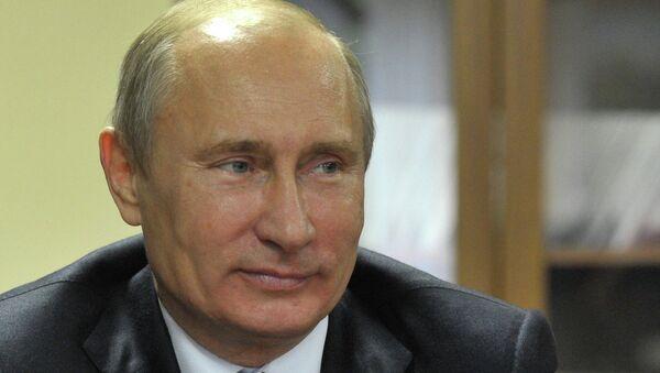 В.Путин посетил один из домов для ветеранов труда в Москве