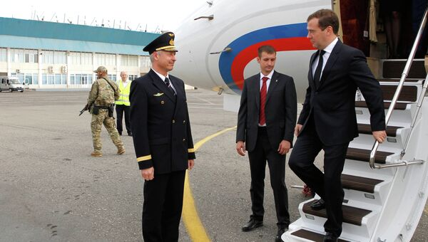 Рабочая поездка Д.Медведева в Дагестан
