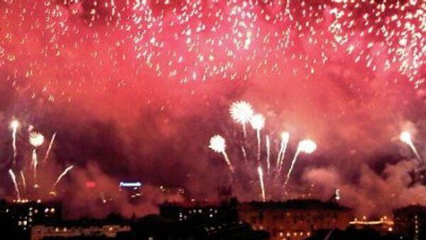 Круг света фестиваль фейерверк Москва