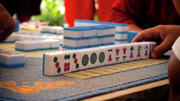 Японская игра маджонг