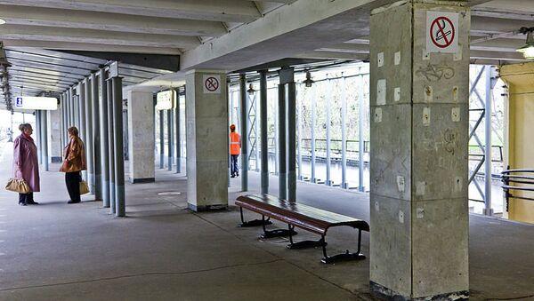 Станция Пионерская Филевской линии московского метро