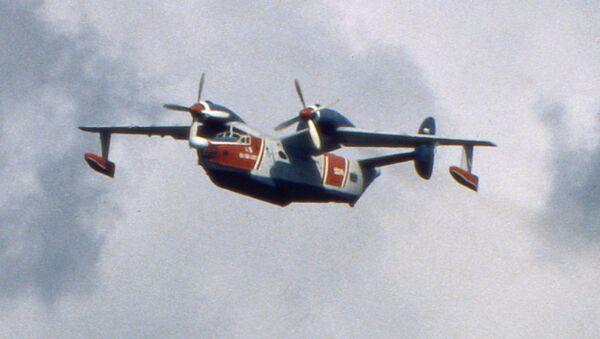 Самолет-амфибия Бе-12. Архив