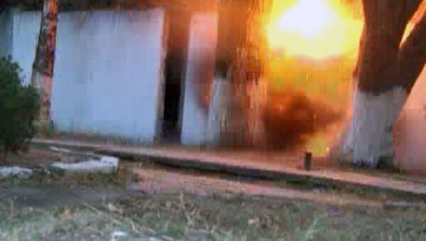 Силовики обезвредили самодельные бомбы в Дагестане. Кадры спецоперации