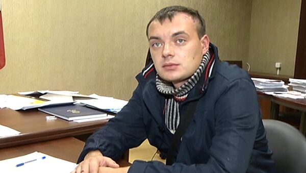 Предполагаемый виновник ДТП с Голуб Алексей Русаков