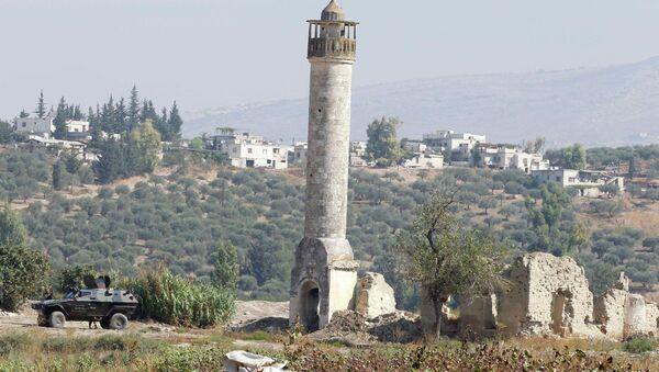 Обстановка на сирийско-турецкой границе