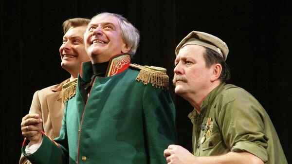 Спектакль «Ревизор» на сцене Московского академического театра имени Вл. Маяковского