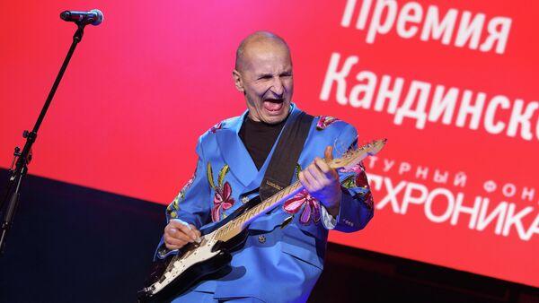 Выступление Петра Мамонова на Премии Кандинского